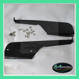 defender rear mud flap brackets