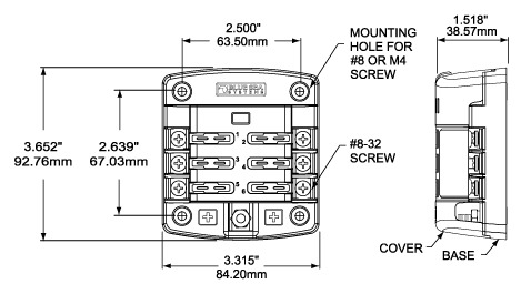clearance for electrical panel with Blue Sea St Blade Fuse Box Copy on Ge Electrical Panel Replacement Parts additionally Body Panels likewise 485682 besides Solar Power enphase micro inverters enphase accessories enphase watertight cap info 1 further 22.