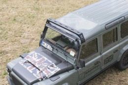 Defender roof bars