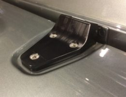 security bonnet hinge