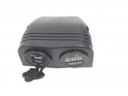 twin USB voltmeter
