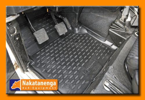 Defender Rubber Floor Mats Full Set Of Mats 90