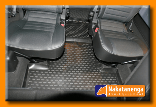 defender rubber floor mats Defender 110 load space mat