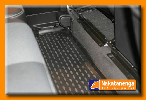 defender 110 rubber floor mat