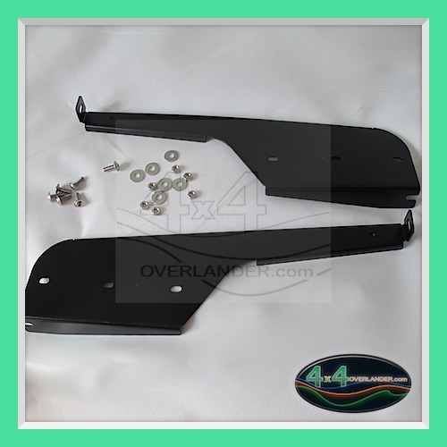 defender 110 rear mudflap brackets