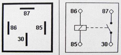 30 amp 4 pin relay