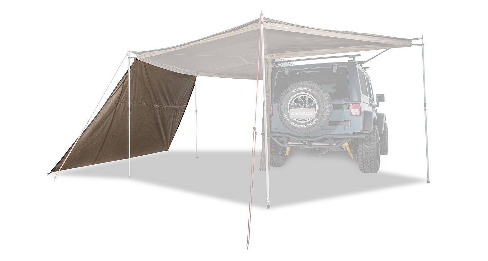 Batwing Foxwing Zip Tapered Extension 4x4overlander