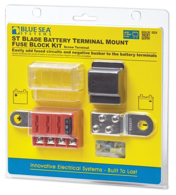 battery terminal mount fuse block