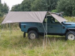 compact awning extension