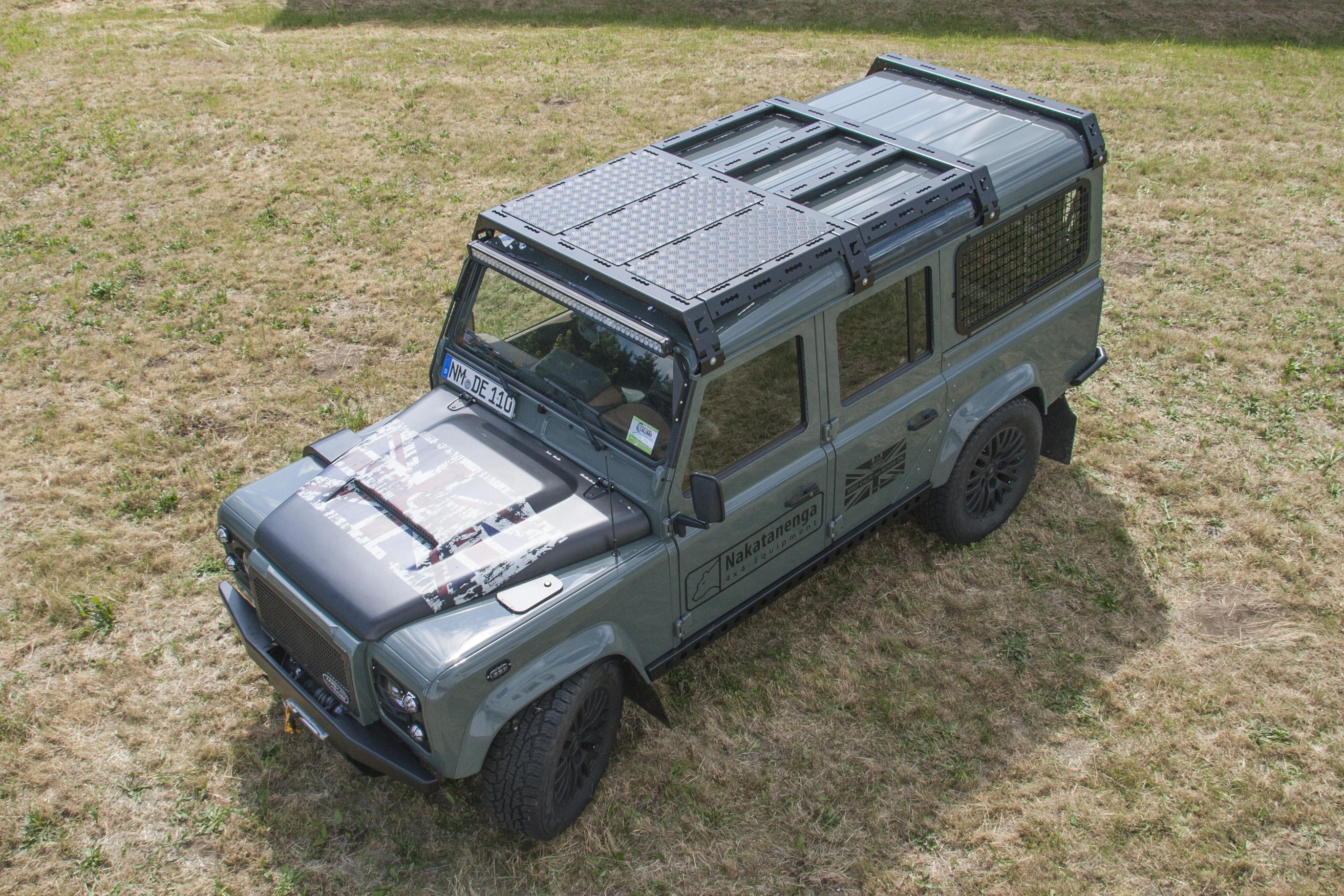 Cargobear Roof Rack System Lr Defender 4x4overlander
