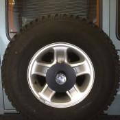 Defender Spare Wheel protector