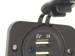 twin usb socket