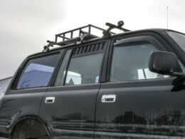 Landcruiser ventilation panels