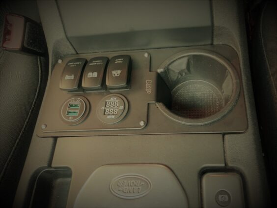 Discovery 4 Dash panel