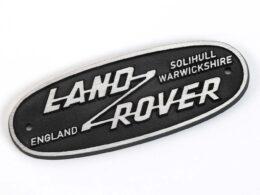 Vintage Land Rover badge