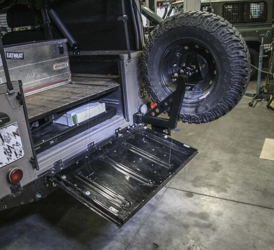 stainless wheel carrier