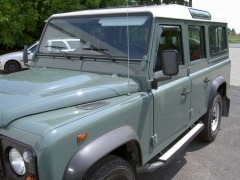 climair wind deflectors defender