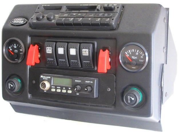 Mud Console Defender 4x4overlander