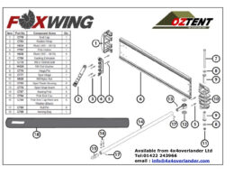 foxwing spare parts