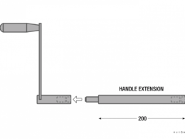 Maggiolina extension handle