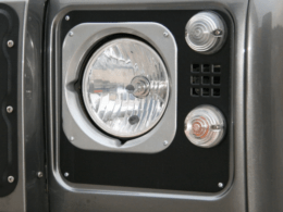 Defender headlight surrounds