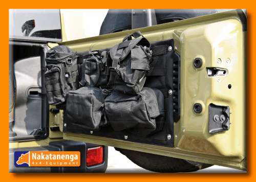 jeep tailgate molle