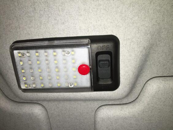 Defender LED interior light