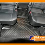 defender rubber floor mats Defender 110 load space mat