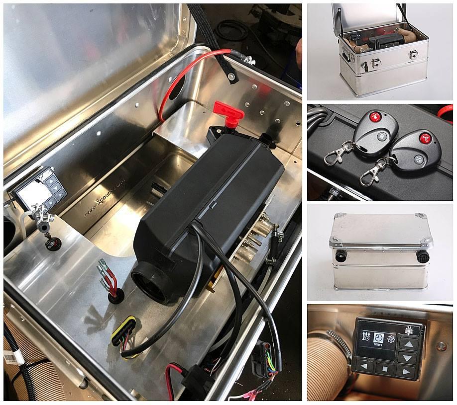 Nakatanenga Planar Mobile Heater 4x4overlander