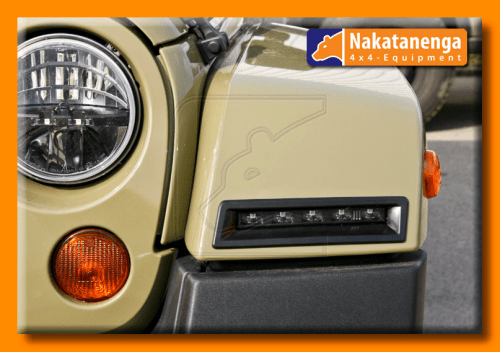Jeep Wrangler JK LED DRL