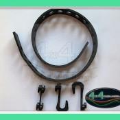 rubber tie down belt