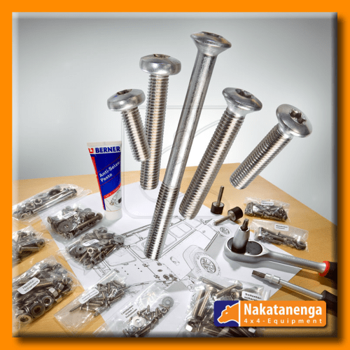 stainless bolt kit