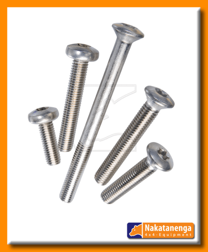 land rover defender stainless steel door bolts